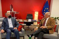 دیدار امیرعبداللهیان با مسئول سیاست خارجی اتحادیه اروپا