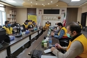 هفدهمین مانور جهادی مدیریت بحران برق در ایلام برگزار شد
