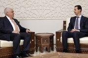 رئیس حشد الشعبی عراق با بشار اسد در دمشق دیدار کرد