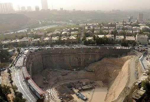 آخرین وضعیت گودهای پرخطر تهران اعلام شد