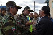 تکاوران نیروی زمینی ارتش در شهر معمولان و روستای چم مهر مستقر شدند