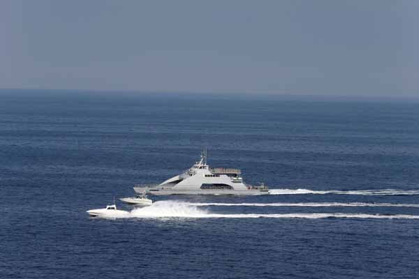 تیراندازی قایق های جنگی اسرائیل به سوی فلسطینی ها