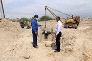 بازدید مدیر منطقه خلیج فارس از مسیر خط گوره - جاسک