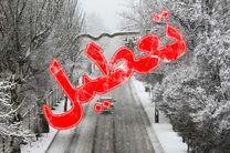 تعطیلی مدارس در برخی از شهرستانهای استان البرز