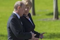 حمله امریکا به سوریه محور گفتگو پوتین و مرکل