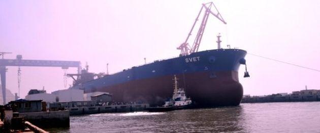 کاهش ذخایر نفت شناور چین