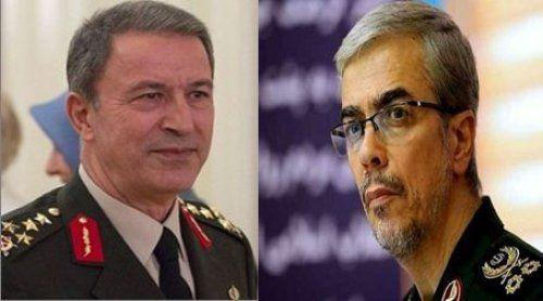 سفر هیات بلند پایه نظامی ترکیه به ایران