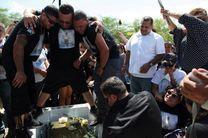 تنش و حادثه در تدفین قربانیان اورلاندو