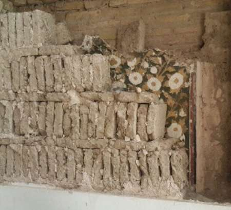 کشف تزئینات منحصر به فرد عصر صفوی در تالار اشرف اصفهان