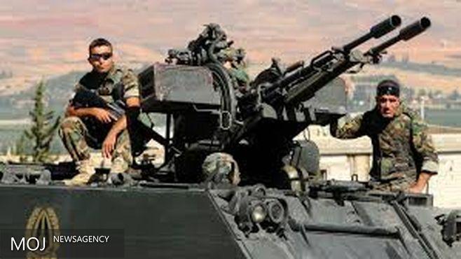 حمله توپخانه ای ارتش لبنان به مواضع تروریست ها در مرز با سوریه