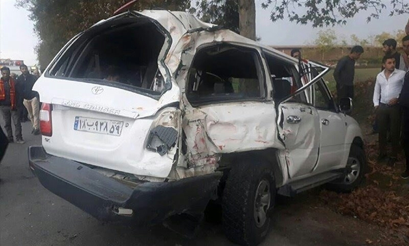 نحوه سانحه رانندگی منجر به فوت رئیس سازمان تامین اجتماعی