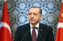 پیام اردوغان به مناسبت سال نو