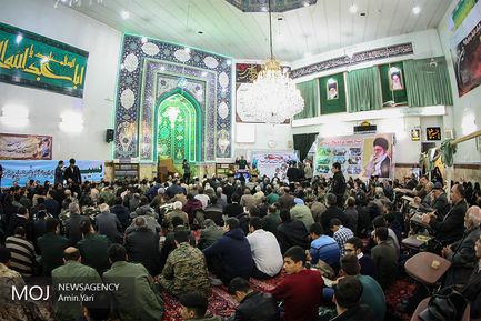 تجمع بسیجیان ناحیه شهید بهشتی با عنوان یاد یاران