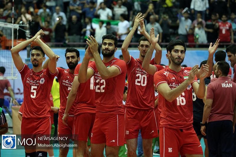 نتیجه بازی والیبال ایران و کره جنوبی/ یک گام فاصله تا کسب سهمیه المپیک