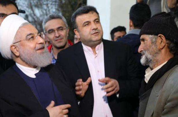 بازدید رئیس جمهور از مناطق سیلزده مازندران