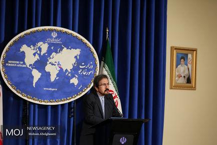اولین نشست خبری سخنگوی وزارت خارجه در سال جدید