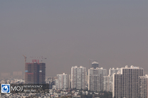 کیفیت هوای تهران ۸ بهمن ۹۸ ناسالم است/ شاخص کیفیت هوا به ۱۲۳ رسید