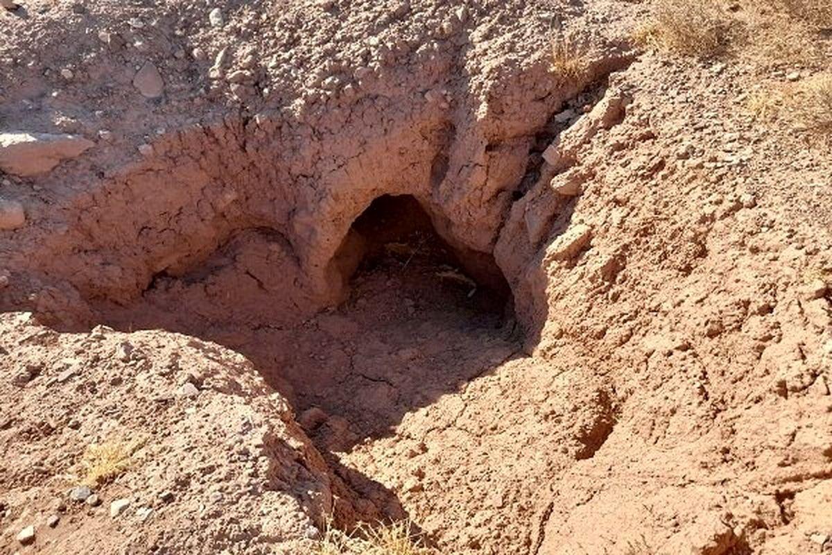 دستگیری حفار غیرمجاز آثار تاریخی در شهرستان کوثر