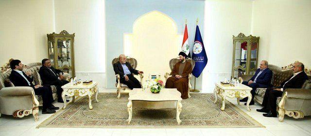 سفیر ایران در عراق با فواد معصوم و عمار حکیم دیدار کرد