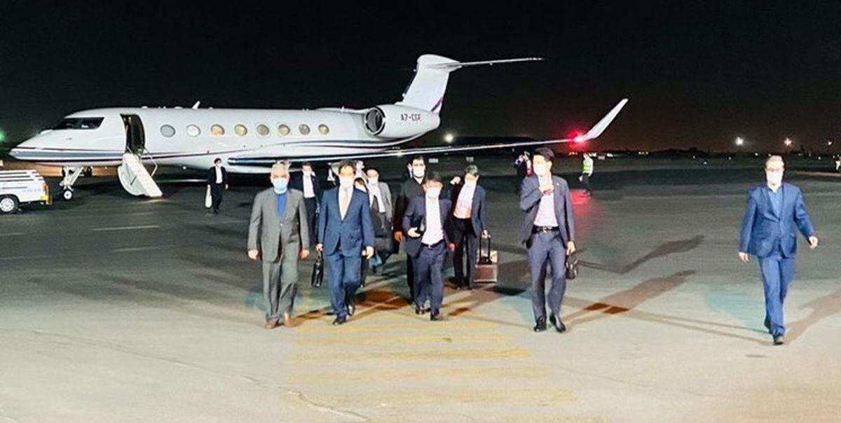 وزیر خارجه ژاپن وارد تهران شد
