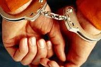 دستگیری سارق داخل خودرو در شهرضا