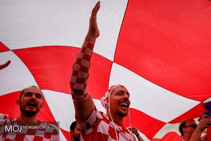 جام جهانی فوتبال - دیدار تیم های انگلیس و کرواسی