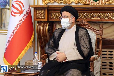 دیدارهای امروز سیدابراهیم رییسی پیروز انتخابات ریاست جمهوری