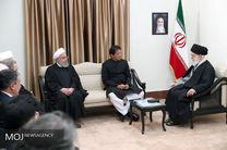 عمران خان با رهبر معظم انقلاب دیدار کرد