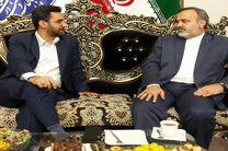 دیدار استاندار خراسان رضوی با وزیر ارتباطات