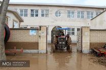 خسارت سیلاب و توفان در شرق گلستان/ ۳۰ مورد آبگرفتگی منازل