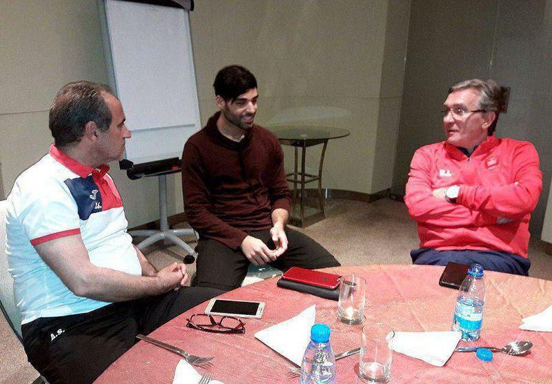 مهدی طارمی با برانکو در دوحه دیدار کرد