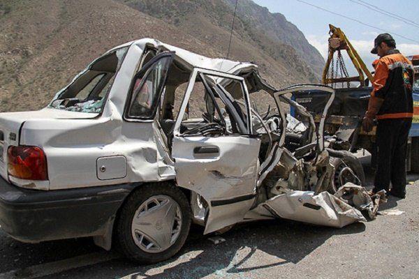 یک کشته و ٧ مصدوم در تصادف پراید با تیبا در خراسان شمالی