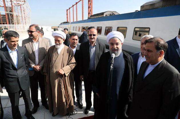 بهره برداری از خط آهن تهران – همدان به طول 276 کیلومتر و با اعتبار 9700 میلیارد ریال