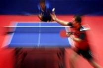 آغاز تمرینات آسیایی تیم ملی تنیس روی میز از 6 فروردین ماه