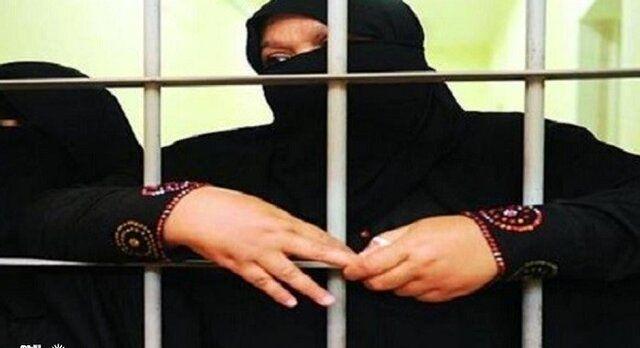 دستگیری مادر داعشیها در شرق موصل