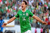 رکوردشکنی چیچاریتو در شب شکست مکزیک