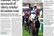 مهمترین عناوین امروز یکشنبه روزنامه های انگلیس