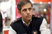 آماده باش خودروهای عملیاتی آتش نشانی تهران در پی وقوع زلزله