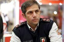 30 نفر از آتشسوزی در ساختمان تجاری بازار تهران نجات یافتند