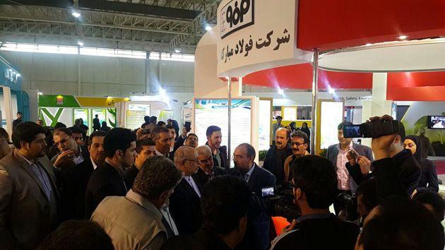 حضور شرکت فولاد مبارکه در سمپوزیوم فولاد ۹۵