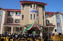 افتتاح یک باب مدرسه 12 کلاسه خیّرساز در لاهیجان