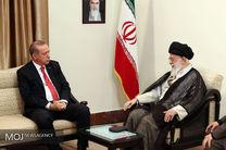 دیدار رییس جمهور ترکیه با مقام معظم رهبری