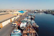 تکمیل پروژه توسط پیمانکار در اسکله صیادی بندر شهید باهنر