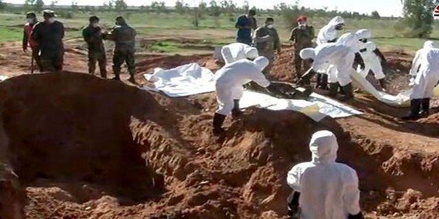 ۷ گور جمعی در بوکمال سوریه کشف شد/ مجهول الهویه بودن صدها جسد