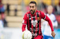 سامان قدوس قرارداد خود را با تیم جدیدش امضاء می کند