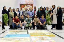 ورکشاپ نقاشیخط جشنواره فرهنگ و رسانه برپا شد