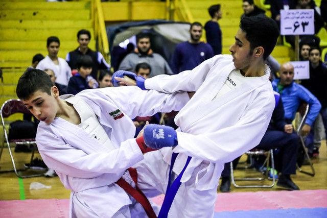 برگزاری مسابقات هفته سوم سوپرلیگ و لیگ برتر کاراته مردان