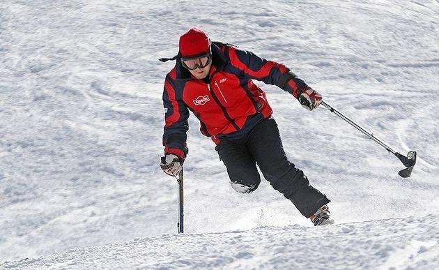 البرز قهرمان مسابقات اسکی معلولان بزرگسالان کشور شد