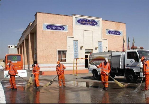 پاکسازی مدارس  در رودبار