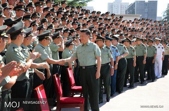 «شی جی پینگ» بر تشکیل یک ارتش حمایت راهبردی تاکید کرد